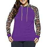 cxzas852 Frauen Casual Fleece Hoodie Sweatshirt mit Taschen
