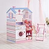 Olivia's Little World Olivia's Little World Teamson Kids 18 Zoll Babypuppen Holz-Puppenhaus...