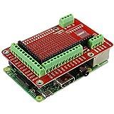 CLJ-LJ 5pcs Prototyping Expansions-Schild Brett gepasst for Raspberry Pi 2 Modell B + / B Holz Rasur...