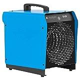 ALLEGRA Heizlüfter 9 KW Elektroheizer Heizgerät Bauheizer mit Thermostat und ca. 1,5m Zuleitung...