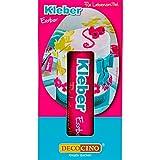 DECOCINO Essbarer Kleber – für Torten-Deko, Kuchen-Deko – CMC-Kleber, Lebensmittel-Kleber –...