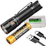 Fenix E28R 1500 Lumen USB-C wiederaufladbare EDC-Taschenlampe mit EdisonBright Akku Tragetasche...