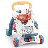 RHSMQ Lauflernhilfe Wagen Kinderwagen Spielzeug Anti-Rollover Gehhilfe Multifunktion Kleinkind...
