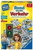 Ravensburger Kinderspiele Verkehrsspiel: Rund um den Verkehr Ravensburger Lernspiel 24997-Lernspiel...