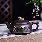 SHENTIANWEI Teekanne Erz schwarzen Schlamm Lotusteich Frosch Topf-Sets Spezial Kung Fu Tee Teekanne...