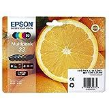 Epson Original 33 Tinte Orange (XP-530 XP-630 XP-635 XP-830 XP-540 XP-640 XP-645 XP-900 XP-7100,...