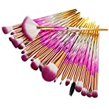 Make-up Pinsel, Nincee 20er Premium Kosmetik Make-up Pinsel Set zum Mischen von Foundation Powder...