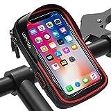 LEMEGO Wasserdicht Fahrradlenkertasche Handyhalterung Handyhalter Fahrrad Tasche Fahrradtasche...