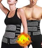 DUROFIT Bauchweggürtel aus Neopren für Fitnesstraining Taille Trimmer Schwitzgürtel zur...