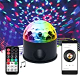 Faker Fernbedienung Disco Lights, DJ Disco Light Mini Mit Fernbedienung Bühnenlampe Sound...