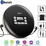 Tragbar CD-Player mit Bluetooth,persönlicher kompakter CD-Player mit Kopfhörern Tragbarer CD...