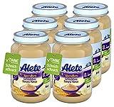 Alete Bio-Gläschen Abendbrei Getreidebrei Banane-Kakao, Babynahrung in Bio-Qualität, ohne Palmöl...