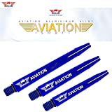 Bull´s NL Aviation Special Aluminium Shaft Bedruckt mit Bulls Logo (Medium)