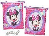 Unbekannt 2 TLG. Set Sonnenschutz Rollo - Disney Minnie Mouse - fr Fenster und Auto Seitenscheibe -...