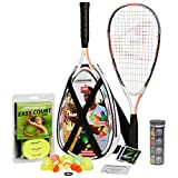 Speedminton S900 Set – Original Speed Badminton/Crossminton Profi Set mit Carbon Schlägern inkl....