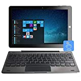 10,1 'Windows 10 Tablet-PC-Touchscreen 2-in-1-Laptop, Intel Quad Core 1.92 GHz, 4 GB DDR3, 64 GB...