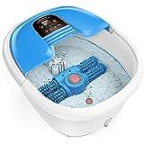 Fußbad Spa AREALER, elektrisch Fußbecken Fußbad Wanne mit automatisch Massage-Rad, Fußmassage,...
