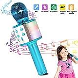 HBBOOI Wireless-Karaoke-Mikrofon Bluetooth tragbare Lautsprecher AusgangsKTV-Player mit Tanzen...
