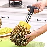 Ananasschäler aus Edelstahl, Ananasschneider, Orange, Avocado, Obstschneider, Haus, Küche