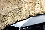 SOFTGARAGE 3-lagig beige Indoor Outdoor atmungsaktiv wasserabweisend Car Cover Vollgarage Ganzgarage...