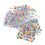Bluelans Nagelsticker- Wassertransfer Nail Art - 10 Blatt 3D Nail Art Sticker Aufkleber Nail Tips...