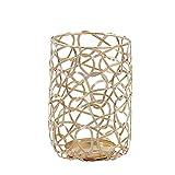 Metall Deko Kerzenleuchter,Geometrische Kerzenhalter, Geometrisch Kerzenständer,Beleuchtung...