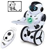 Top Race RC-Fernbedienung Spielzeugroboter, intelligenter selbstausgleichender Roboter, 5...