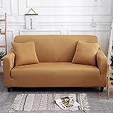NOBCE L-Form Couchbezug Einfarbige Ecksofabezug für Wohnzimmer Elastic Spandex Schonbezüge Stretch...