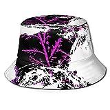 Fashion Bucket Hat für Männer & Frauen Fisherman Faltbare Mütze Sun/Rain Shield Hats Print...