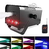 Nebelmaschine, Theefun 7 farbige LEDs Nebelmaschine Tragbare Rauchmaschine mit Kabellos...