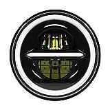 """MONDEVIEW 7"""" LED-Scheinwerfer Für Motorräder Harley Davidson Wrangler 400W 40000LM Chrom DRL..."""