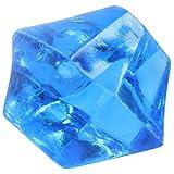 Naliovker Dekoelement für Aquarien, Kunststoff, unregelmäßig, Blau, 150 Stück