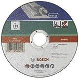 Bosch 2609256316 DIY Trennscheibe Metall 125 mm  x 1,6 mm gerade