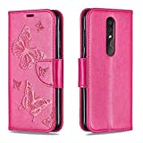 EUDTH Nokia 4.2 Hlle,Handytaschen PU Leder Tasche Flip Case Brieftasche Handyhlle fr Nokia 4.2 5.71'...