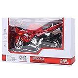 1:12 Motorrad Modell Sammlung Legierung Auto Spielzeug mit Ton und Licht zurückziehen Auto Modell...