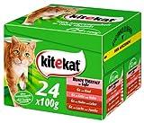 Kitekat Bunte Vierfalt in Soße 2x(24x100g) - Katzenfutter
