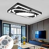 Deckenlampe LED Deckenleuchte 78W Wohnzimmer Lampe Modern Deckenleuchten Kueche Badezimmer Flur...