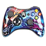 CMDZSW 2.4G Wireless Gamepad for Xbox 360-Konsole Controller-Receiver (Color : Wireless Warcraft)
