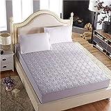 HNLHLY Bettlaken aus Baumwolle, Gesteppte Bettdecke aus Baumwolle, Matratzenschoner von Simmons,...