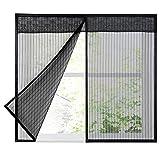 Magnetischer Insektenschutz-Fenster, selbstklebend, für Schlafzimmer, Küche, Kinderzimmer etc.
