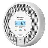X-Sense CO Melder mit Digitalanzeige, Kohlenmonoxidmelder, akkurater Sensor mit 10-Jahren...