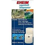 Eheim 32618080 Filterpatrone für Innenfilter 2208-2212 Aquaball 60-180 und Biopower 160-240, 2...