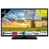 Hitachi 32HAE4252 LED-Fernseher 32 Zoll 80,01 cm FullHD mit Alexa Android Smart TV: Netflix,...