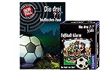 Kos mos Die DREI ??? Set: Teuflisches Foul + Fußball Alarm (Kartenspiel)