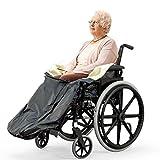 Bramble Universal Rollstuhldecke mit Fleecefutter, Fußsack, Gefütterter Schlupfsack mit...
