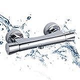 GAPPO Duschthermostat Mischbatterie für Dusche mit Temperaturkontrolle und Durchflusseinstellung...
