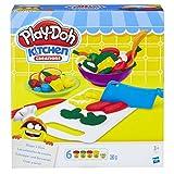 Hasbro Play-Doh B9012EU4 - Schnippel- und Servierset Knete, für fantasievolles und kreatives...