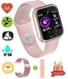 Fitness Bluetooth Smartwatch  Smart Touch Sportuhr Armband Fitness Tracker mit Herzfrequenzmesser...