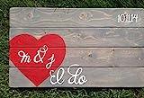 Stan256Nancy I Do DeSign Personalisiertes Gästebuch Hochzeit Gästebuch mit Initialen und...