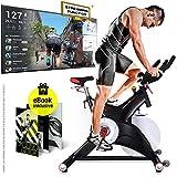 Sportstech Profi Indoor Cycle SX500  Deutsche Qualittsmarke -Video Events & Multiplayer APP, 25KG...